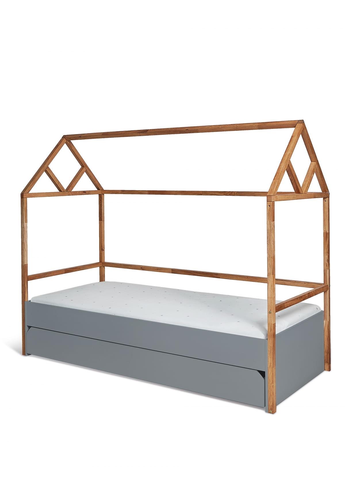 Bellamy Lotta Gray łóżko Domek 90x200 Z Szufladą Zadzwoń I Odbierz Rabat